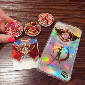 Sailor Moon Cute 3D Cartoon Expanded Air Bag Stand Finger Ring Phone Holder US