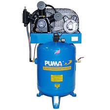 Puma 3-HP 40-Gallon Two-Stage Air Compressor (208/230V 1-Phase)