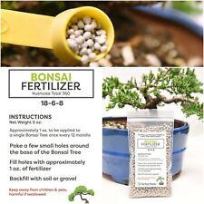 Bonsai Fertilizer Pellets 100% Natural Slow Release Enrichment 5 Year Supply