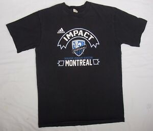 ADIDAS IMPACT MONTREAL Major League Soccer Montreal Large black  vintage