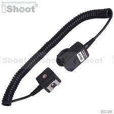 Flash Cable I-TTL fuera de cámara Sync Cord para Nikon SC-29&SB800/SB700/SB600