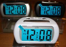 Orologi e sveglie da casa blu digitale in plastica