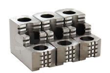 Shars 8 Reversible Double Step Hard Steel Chuck Jaw Set For Kitagawa B208 R