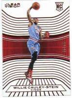 2015-16 Panini Clear Vision Rookies Red RC /99 #98 Willie Cauley-Stein Sac Kings