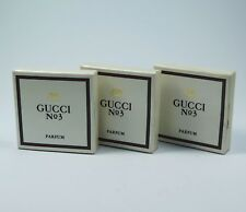 GUCCI No 3  PARFUM 3 x 3ml Womens perfumes 9ml NEU/OVP RAR