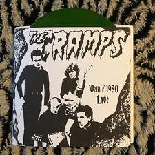 """CRAMPS Venue 1980 Live 7"""" COLOR VINYL Gun Club Misfits Nick Cave Punk KBD NEW"""