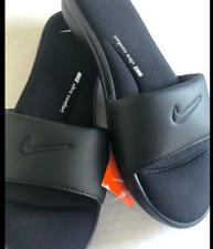 Brand New-NWT NIKE ULTRA COMFORT 3 SLIDE Women's Sandals BLACK AR4497 003-AUTHEN