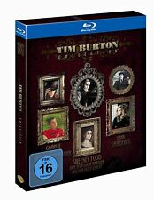 Tim Burton Collection -  Sweeney Todd  Dark Shadows  Charlie  Blu-ray/NEU/OVP