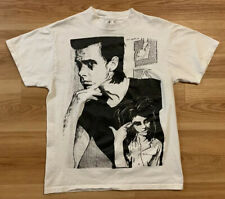 VTG 90's Nick Cave And The Bad Seeds Bootleg Shirt M Concert Tour Cramps Punk