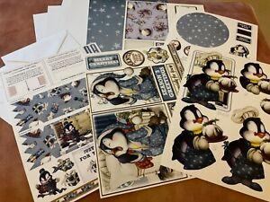 Debbie Moore Christmas card making kit