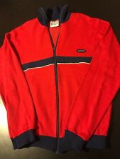 Vintage 70s 80s Sporett Sieger Small Track Suit Top Jacket Training Ski Tennis