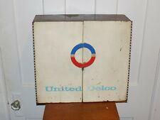 Vintage United Delco Wall Countertop Storage Cabinet