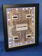 "Intel 4004 Microprocessor 4001 ROM, 4002 RAM, 4003 I/O Chipset (P4004) 8""x10"""
