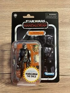 +++ Hasbro Star Wars Vintage Collection DIN DJARIN THE CHILD VC177 IN HAND READ