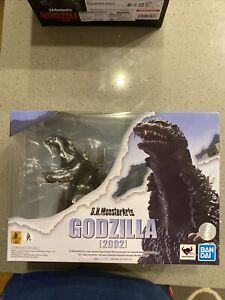 Godzilla (2002) S.H.MonsterArts Action Figure - Bandai Tamashii Nations