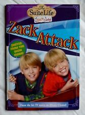 CHILDREN'S PAPERBACK CHAPTER BOOK THE SUITE LIFE OF ZACK & CODY: ZACK ATTACK -#4
