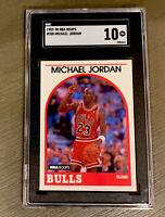 1989 NBA Hoops Michael  Jordan #200 SGC 10