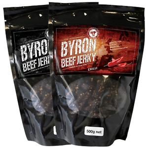 1kg of Byron Beef Jerky - bulk buy