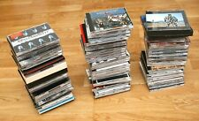 Bunte CD-Sammlung aus Pop, Rock, Jazz, Klassik (w/ Auflösung der Sammlung)