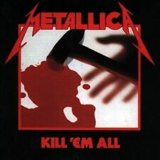 KILL 'EM ALL CD BY METALLICA NEW SEALED