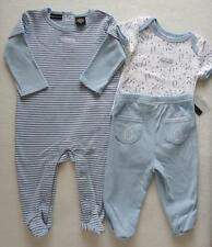 Calvin Klein Baby Boy 3 6 Months Sleeper Bodysuit Outfit Set Pants Blue NWT