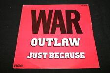 "WAR   SP 45T 7""   OUTLAW"