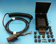 7 Pin Suzie Front Cable Assembly & Junction Box Ifor Williams Trailer  #TR