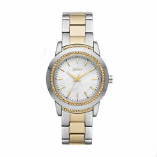 DKNY Mother of Pearl Glitz 2 ToneLadies Watch NY8674 NEW!  Low Inter Shipping!!!
