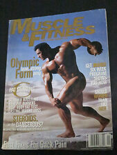 1996 ~ MUSCLE & FITNESS ~ OLYMPIC FORM