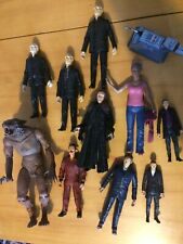 Doctor Who Toy Figures Bundle - Autons, Martha, K-9, and More