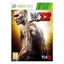 Pal version Microsoft Xbox 360 WWE 12