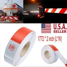 """New listing 147ft Trailer Vehicle Reflective Safety Warning Tape Fim Sticker Strip Roll 2"""""""