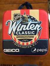 2015 NHL Winter Classic Seat Cushion Blackhawks Vs. Capitals Washington, D.C.