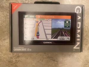 "New Sealed Garmin Drive 61 EX 6"" GPS Navigator w/ Driver Alerts"
