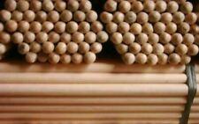 More details for 12 wooden handles size 4'x24mm job lot broom snow shovel handle sweep brush