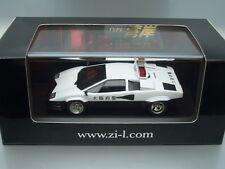 """1/43 Ixo - Lamborghini Countach 5000Qv """"Wangan"""" Osaka Patrol Car - Zil Edition"""