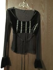 WOMENS SIZE MEDIUM EVENING TOP