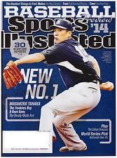 Sports Illustrated March 31, 2014 Masahiron Tanaka Yankees, Robinson Cano, Price