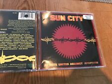 SUN CITY cd Artists United Against Apartheid Bono/Peter Gabriel/Bob Dylan/Geldof