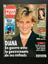 Point de Vue N°2541 diana juliette binoche      1997