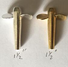 """10 DEVON MINNOW GOLD & SILVER  BODIES + 10 BEADS 1,1/2"""" (38 mm, 6 g) - SECONDS"""