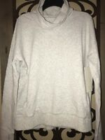 NWT $98 Lululemon Women's STRESS LESS Pullover Hoodie French Terry Grey 8