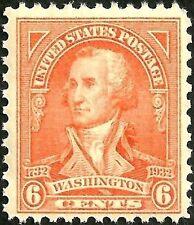sc#711 old 1932 US/usa washington bicentennial stamp mint og nh mnh