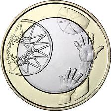 5 Euro FINLANDE 2015 SPORT BASKET-BALL NEUVE FINLAND SUOMI