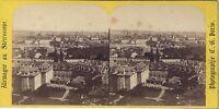 Praga Repubblica Ceca Autriche Foto Charles Gaudin Stereo Vintage Ca 1860