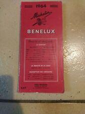 Guide Michelin Rouge 1964 Benelux