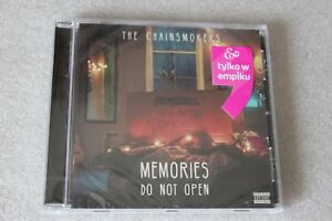 The Chainsmokers - Memories Do Not Open CD - NEW SEALED Polish Stickers