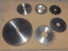 Lot de 6 disques de scie machine à bois(carbure_dents)