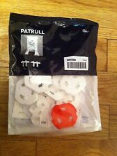 IKEA Family brand PATRULL outlet covers new in package Red White Safety Import
