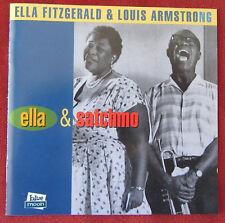 ELLA FITZGERALD & LOUIS ARMSTRONG CD ELLA & SATCHMO